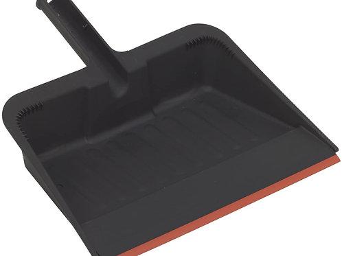 "H480 - Dust Pan Plastic, 12"", Black"