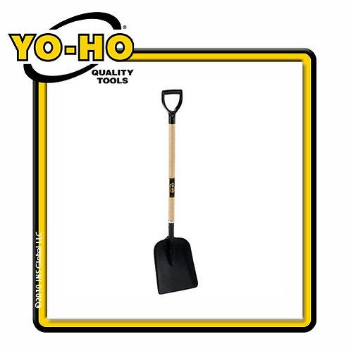 YOHO 31300 MavRik Steel General Purpose Shovel, 40in ash handle, poly D