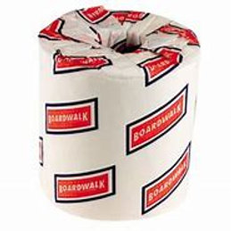 Boardwalk® White 2-Ply Standard Size Cored Roll 500 Sheets 4-1/2 X 4-1/2 Inch