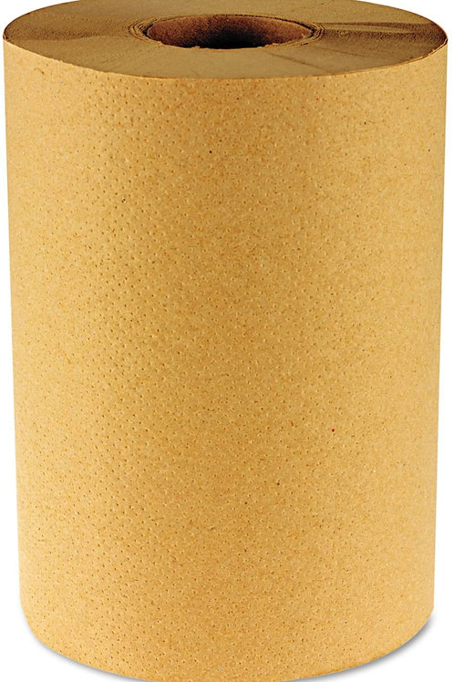 Boardwalk Hardwound Paper Towel Nonperforated 8 in. x 800 - Natural