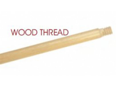 """LCB 20"""" Special - 15/16"""" X 20"""" Wood Handle with Wood Thread"""