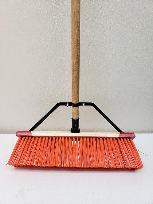 """96 Series Complete - 16"""" 18"""" Orange Broom"""