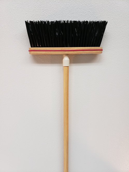 "112 Complete - 12"" Stiff Sweep Upright Broom"