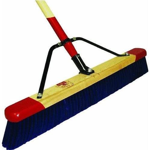 """7924C - 24"""" Stiff Heavy Debris Push Broom Complete"""