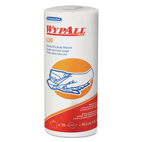 WypAll L30 Towels, 11 x 10.4, White