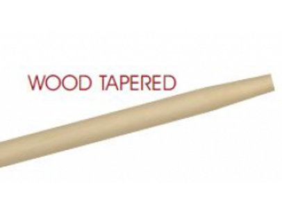 Tapered Wood Handle - 1 1/8 X 72""