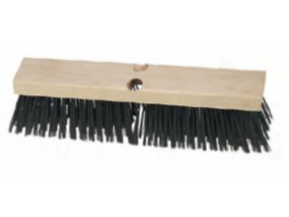 LCB FSW325 - Carbon Steel Wire Floor Broom - Hardwood