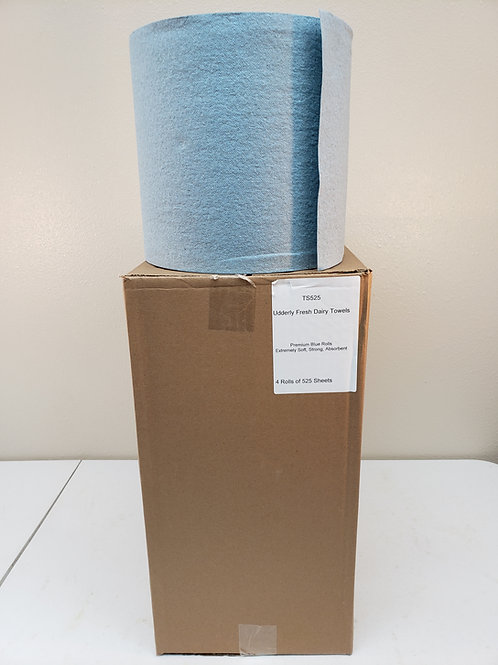 CLO TS525B - Blue Roll 525 Sheet/Qty 4