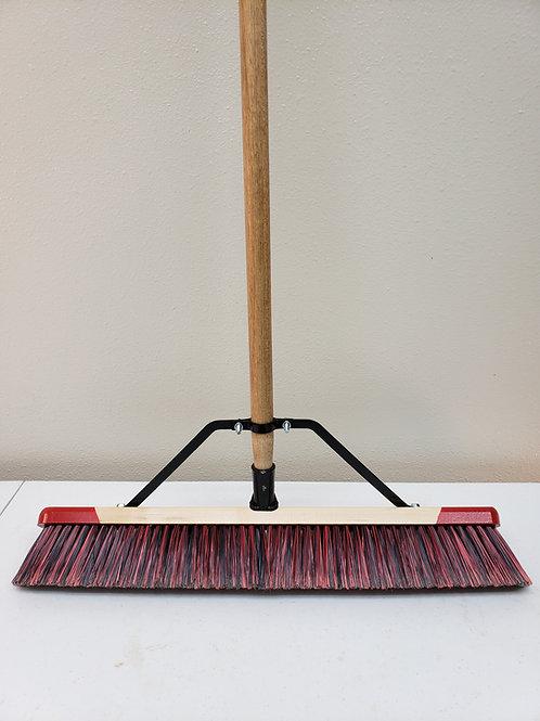"""23 Series Complete - 18"""" 24"""" 36"""" Fine Push Broom"""
