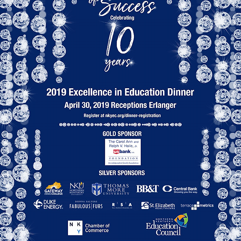2019 Excellence in Education Dinner