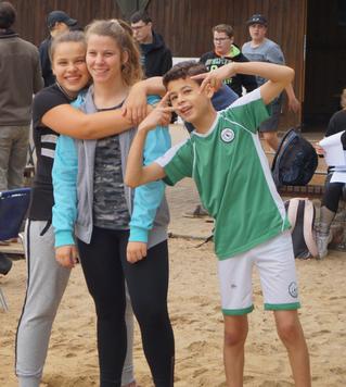Sportolympiade im Freibad Kyritz