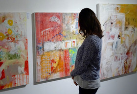 Ausstellung in einer Galerie in Aarau