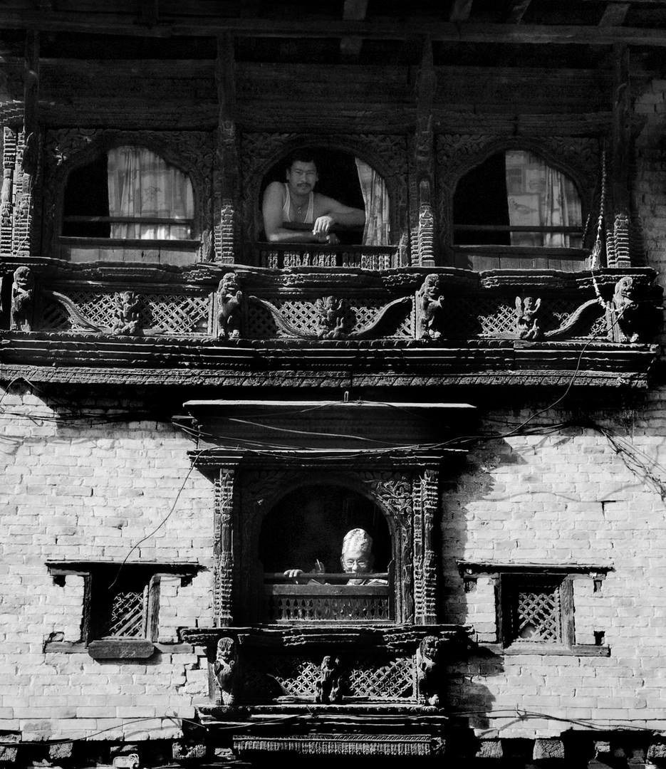 Men Windows Katmandu