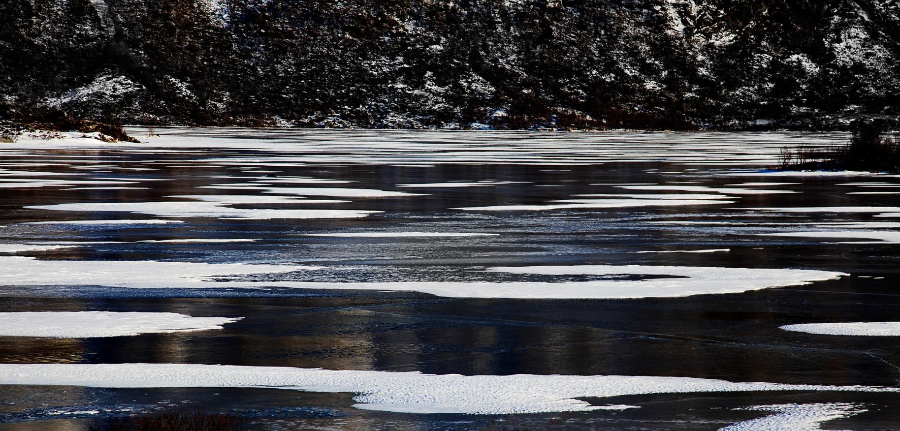 Stripy Iced Water
