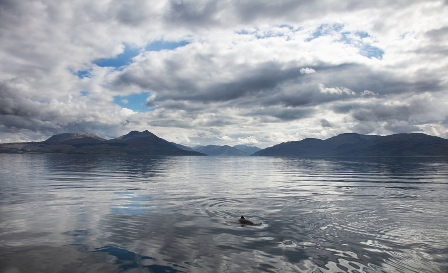 Mouth of Loch Hourn from Sound Sleat