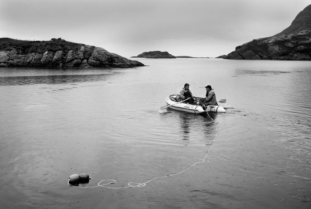 Sam & Rick in Dingy Outer Hebrides