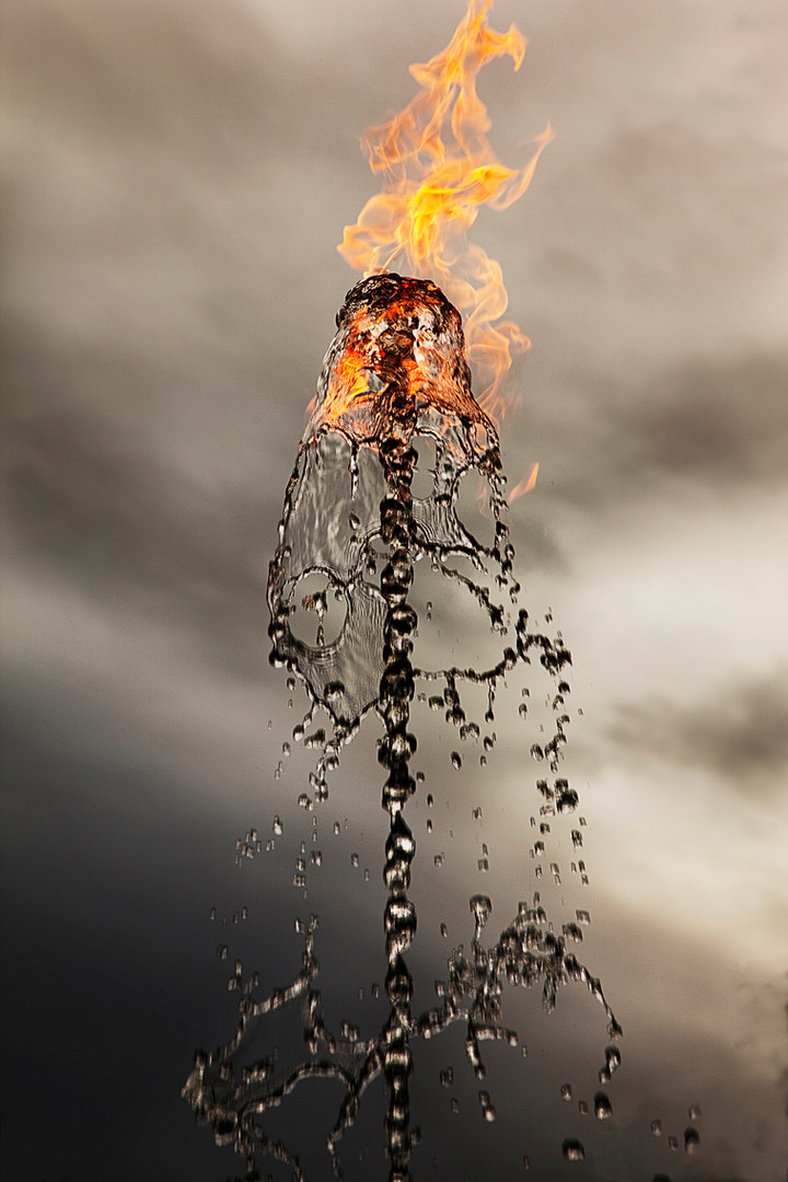 Waterflame, Houghton