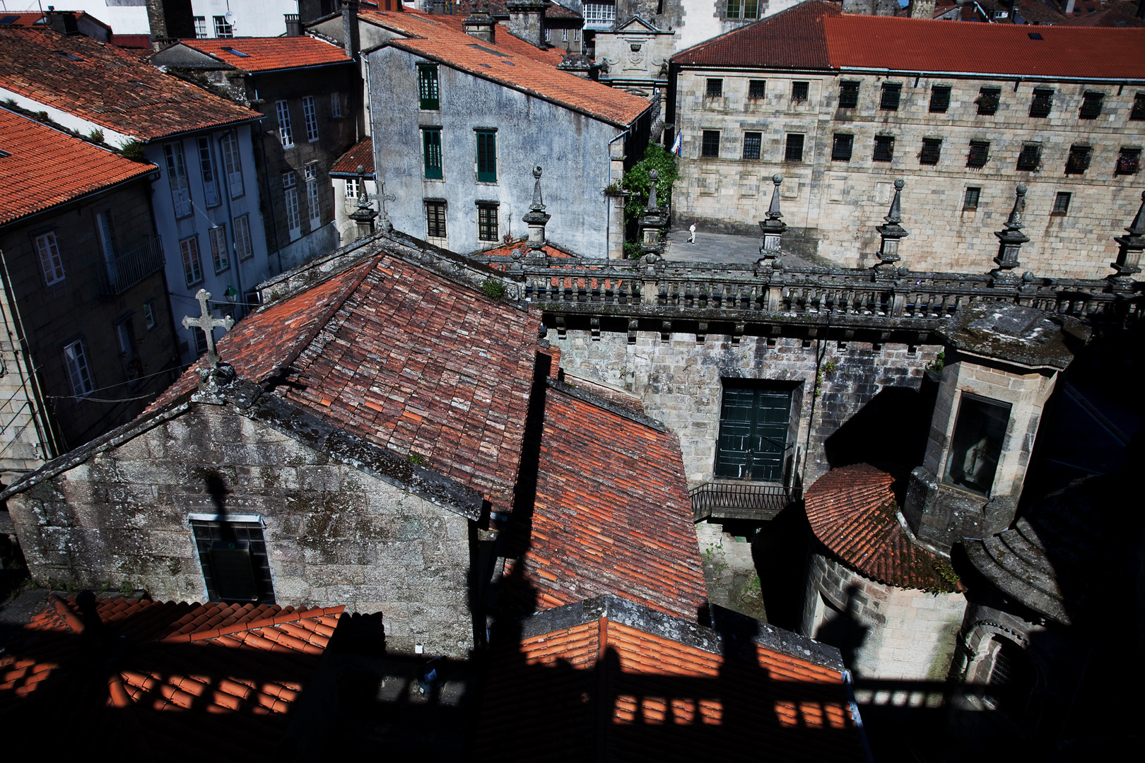 Santiago De Compostela Roof Tops