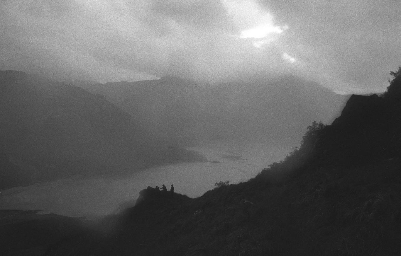 Silhouettes Loch Side