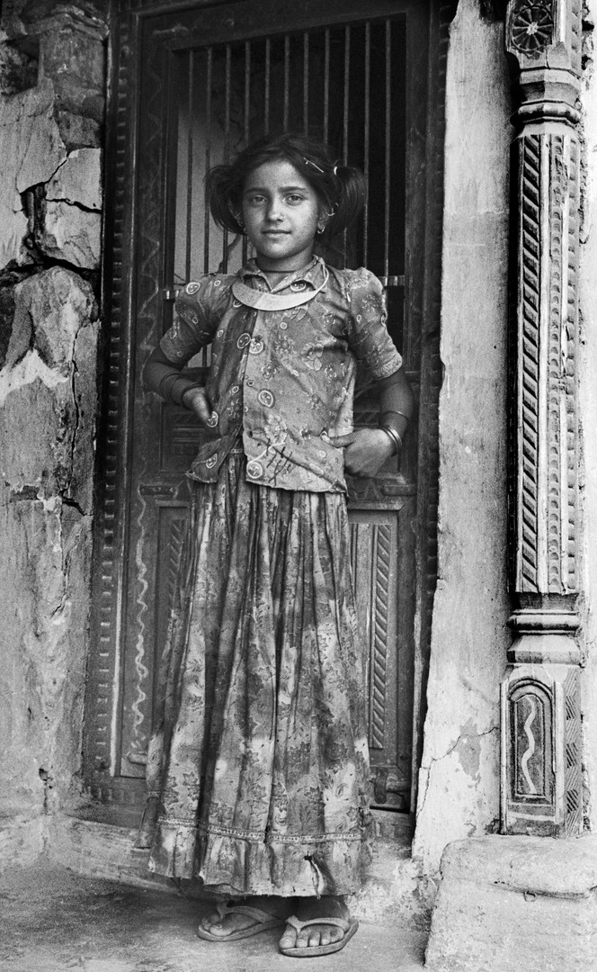 Girl by Door