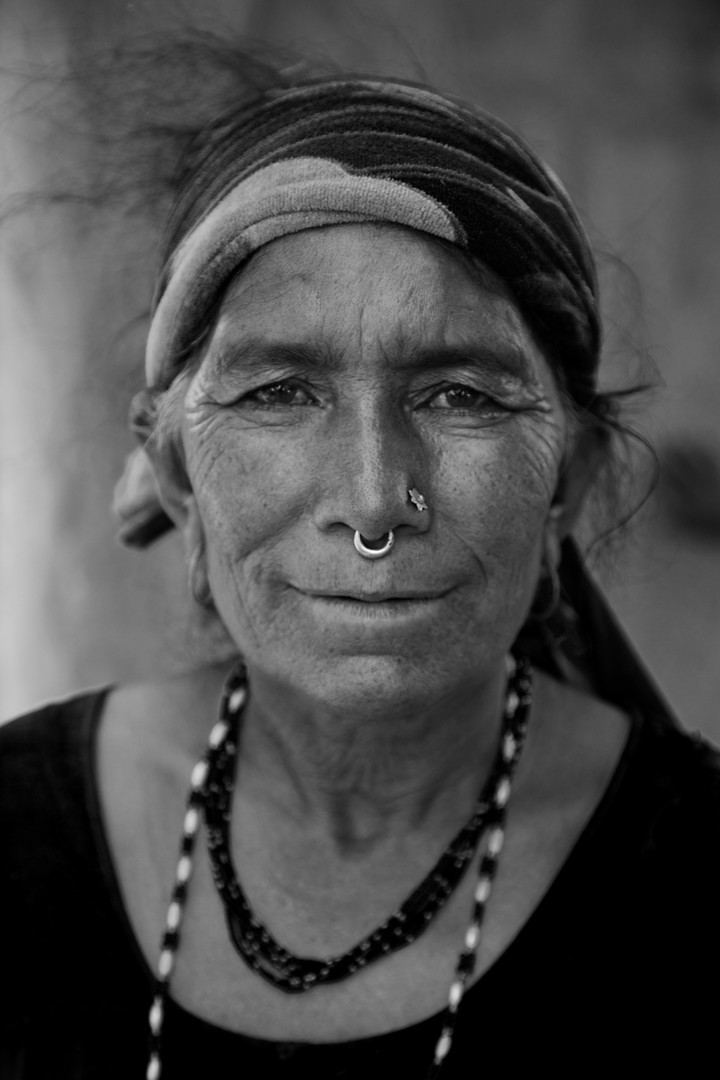 Woman Nose Ring