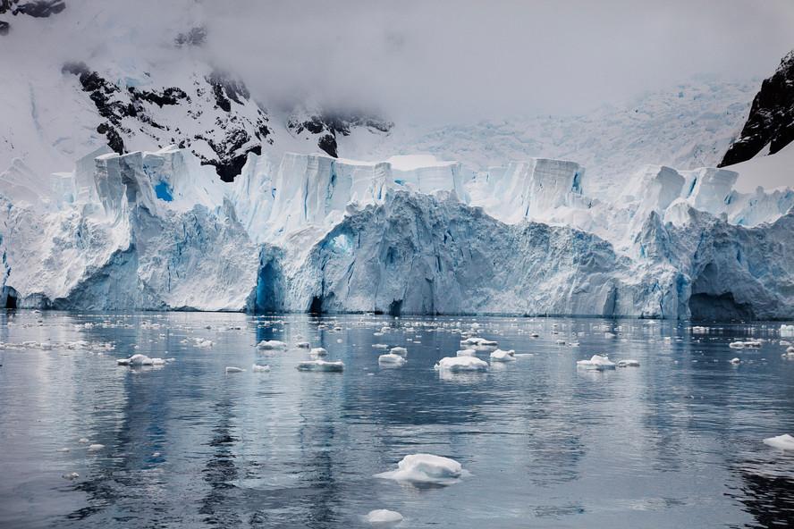 Blue Ice Castle