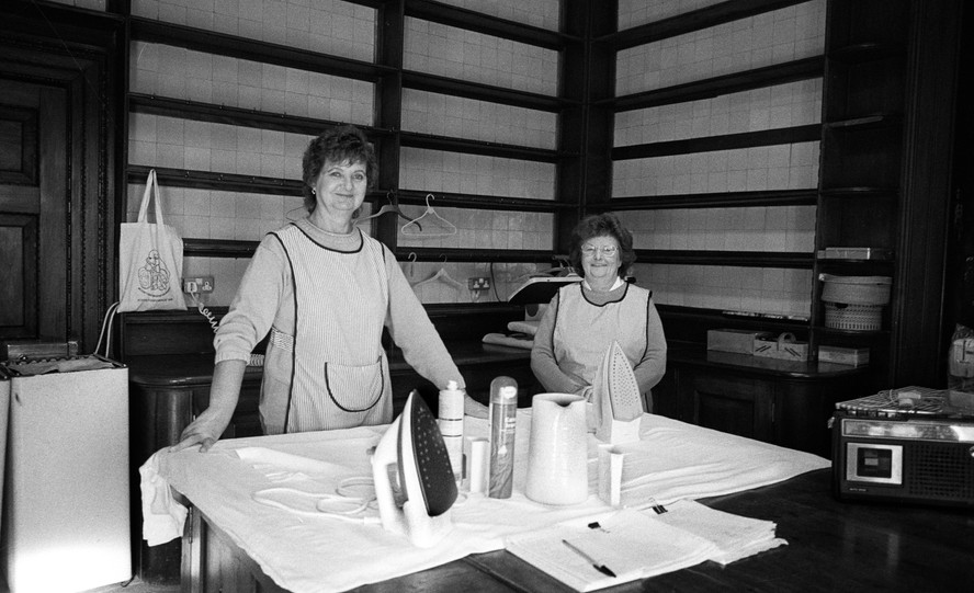 Ladies Ironing