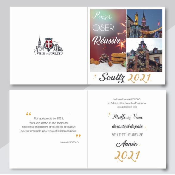 Carte de voeux 2021 - Mairie de Soultz