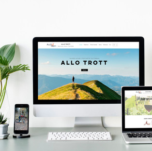 Identité visuelle et site internet - ALLO TROTT