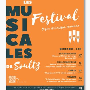 Affiche LES MUSICALES