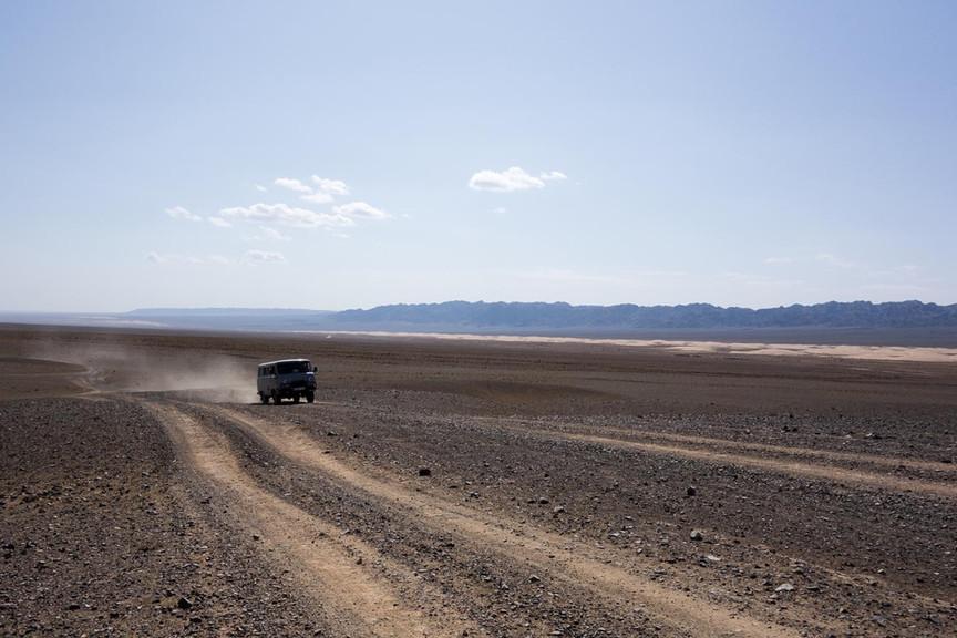 Gobi desert ride