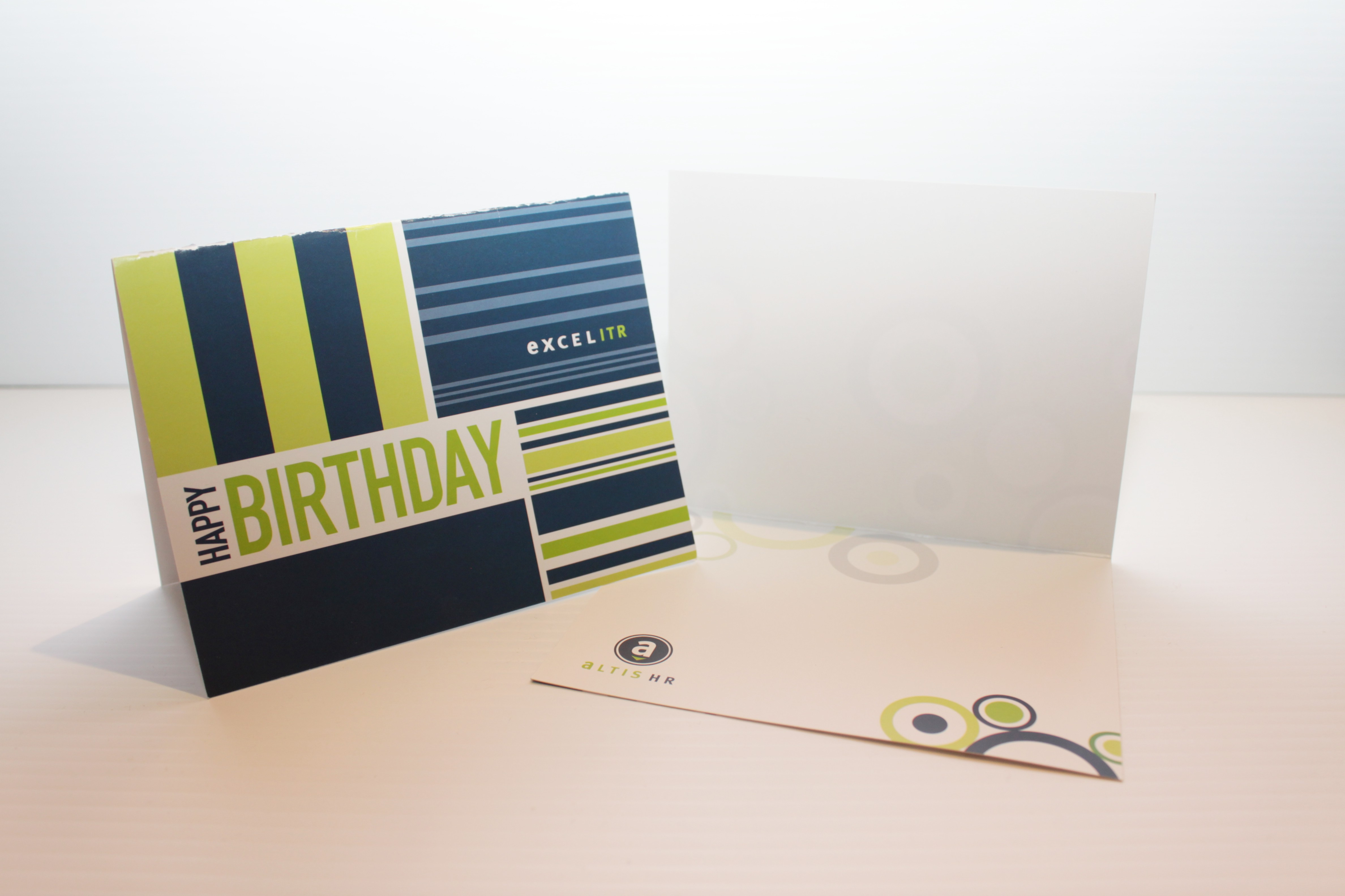 Excel HR Birthday Cards