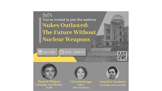 """""""Nukes Outlawed: The Future Without Nuclear Weapons"""""""