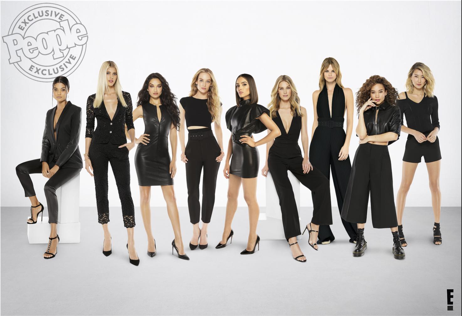 E Model Squad People