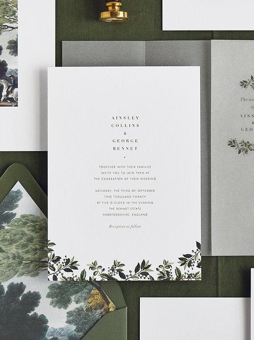AINSLEY VOL.II WEDDING INVITATION SAMPLE SET