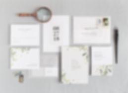 Anna wedding invitation set