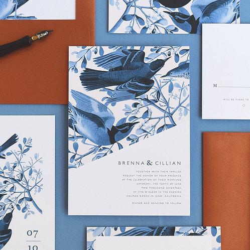 BRENNA WEDDING INVITATION SAMPLE SET