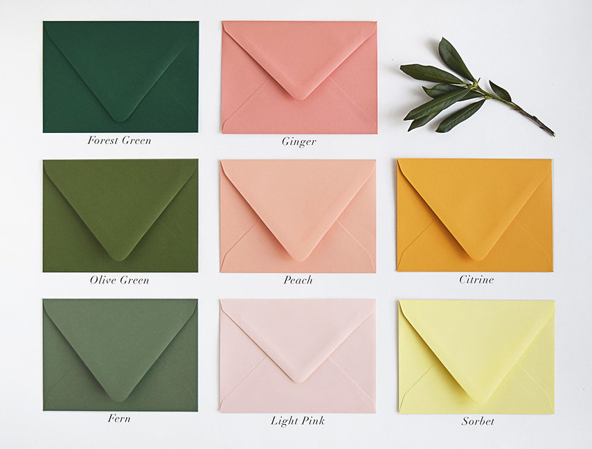 Rachel Marvin Creative envelopes