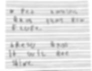 Handwriting difficuty