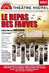 Théâtre - Le repas des fauves - Affiche.