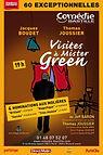 Théâtre - La visite à Mister Green - Aff
