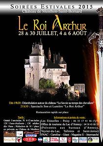 Le Roi Arthur - Menthon 2015 - Affiche.j