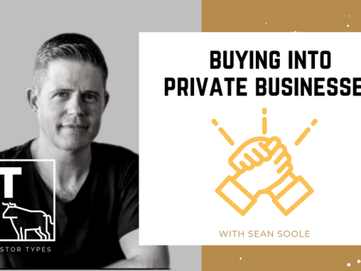 Podcast – Buying into Private Businesses