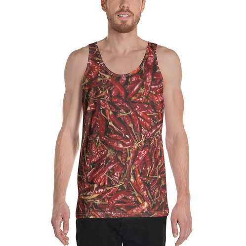 """Unisex Tank Top """"Hot Peppers"""""""
