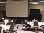 A/V Equipment, Projection Screens, projectors