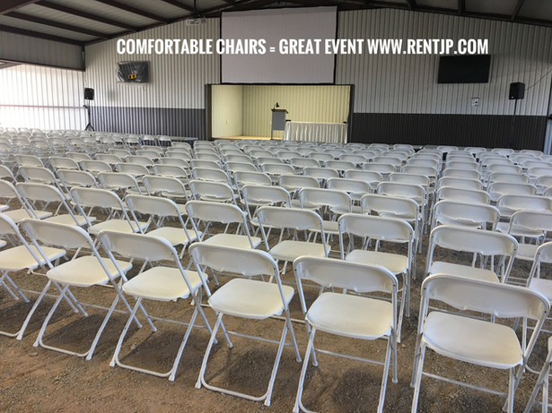Comfortable Chairs For Your Event