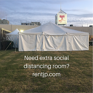 tents, tables, chairs for outside social distance events in Altus, OK