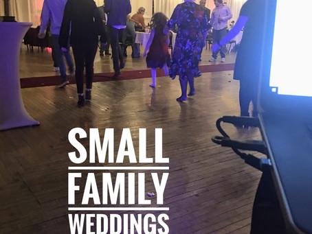 Small Family Weddings