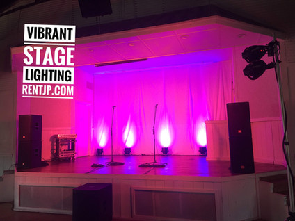 Vibrant Stage Lighting Systems