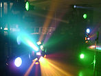 Special effects, mirror ball, black light, fog machine, laser, strobe light